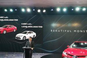 Toyota Camry 2019 chính thức chốt giá tại Việt Nam, giá cao nhất 1,235 tỷ đồng