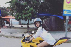 Lộ danh tính nữ Rich Kid Việt body chuẩn, lái moto cực ngầu