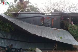 2 người chết, nhiều người bị thương do mưa lốc tại Campuchia