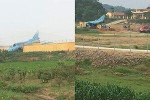 Bộ Quốc phòng thông tin: Máy bay SU-22 hạ cánh mất an toàn tại Yên Bái