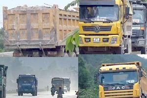 Nghệ An: Xe chở đất, đá 'cày nát' đường dân sinh ra quốc lộ, người dân sống chung với ô nhiễm
