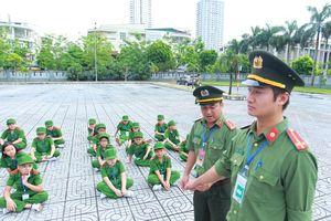 Khởi động chương trình 'Học làm chiến sĩ Công an'