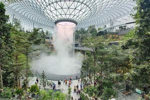 Chiêm ngưỡng hình ảnh lộng lẫy của sân bay tốt nhất thế giới tại Singapore