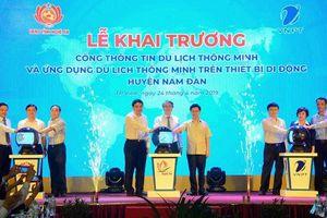 Cổng thông tin du lịch thông minh huyện Nam Đàn chính thức hoạt động