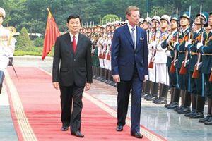Tổng Bí thư, Chủ tịch Nước chia buồn với Đại Công tước Luxembourg
