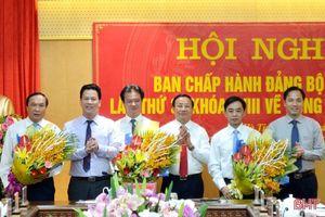 Hà Tĩnh bầu bổ sung 3 Ủy viên Ban Thường vụ Tỉnh ủy