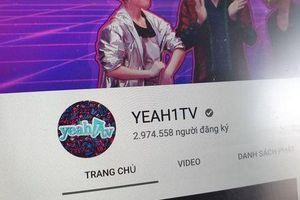 Lợi nhuận Yeah1 giảm gần 99% sau sự cố với Youtube