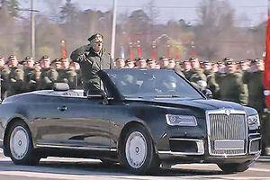 Xe siêu sang Nga - Aurus Senat mui trần bất ngờ lộ diện