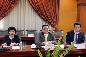 Thứ trưởng Hoàng Quốc Vượng tiếp Giám đốc điều hành Công ty Infraco Asia