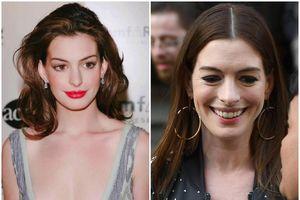 'Công chúa' Anne Hathaway gây sốc với gương mặt già nua, xuống sắc