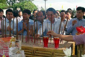 Truy điệu và an táng 23 hài cốt liệt sĩ ở Quảng Trị