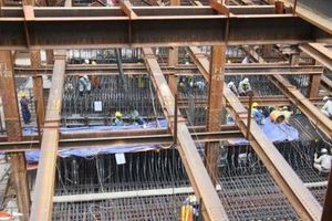 Ngưng đào hầm tuyến metro Bến thành - Suối Tiên vì lún nền đất