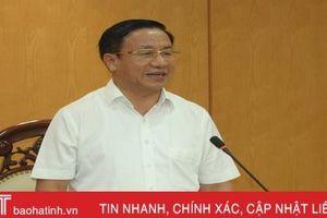 Sáp nhập đơn vị hành chính cấp xã tại Hà Tĩnh: 'Làm ở đâu, chắc ở đó'