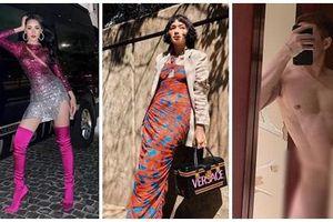 Châu Bùi trốn nóng ở Seoul - Chi Pu tăng nhiệt sàn diễn đường phố với đầm sequin lấp lánh