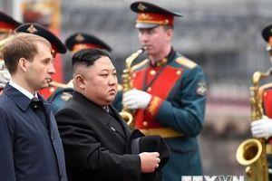 Nhà lãnh đạo Triều Tiên Kim Jong-un tới Vladivostok