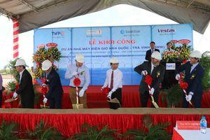Đầu tư hơn 2.400 tỷ đồng xây nhà máy điện gió Hàn Quốc-Trà Vinh