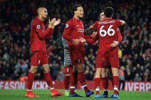 Liverpool là một trong những 'dữ liệu' yếu nhất tại Anh