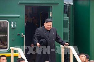 Tàu chở Chủ tịch Triều Tiên sắp tới ga Vladivostok