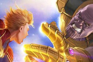 'Avengers: Endgame': 10 cách Captain Marvel làm lợt phai bóng hình Thanos trên màn ảnh!
