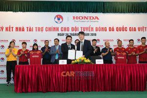 Honda Việt Nam sẽ tài trợ cho bóng đá Việt Nam trong 2 năm