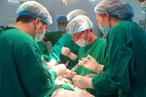 Kịp thời cứu nam bệnh nhân bị kéo đâm rách màng tim