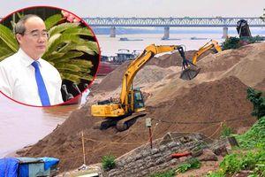Tình trạng khai thác cát trái phép tại huyện Cần Giờ ở mức báo động