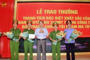 Nghệ An khen thưởng chuyên án thu giữ 700 kg ma túy đá