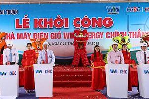 Khởi công Dự án Nhà máy điện gió Win Energy Chính Thắng