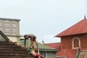 Phạt tù người cha ngáo đá hành hạ con 2 tuổi trên mái nhà