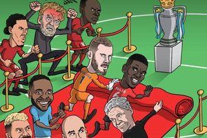 Hí họa MU mời Man City vô địch trong sự tức tối của Liverpool