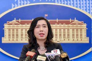 Việt Nam lên tiếng về thông tin duy tu, bảo dưỡng ở Trường Sa