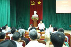 Hà Đông đối thoại với người dân Bắc Lãm: Chính quyền lắng nghe và giải quyết nguyện vọng chính đáng của Nhân dân