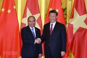 Thủ tướng Nguyễn Xuân Phúc hội kiến Tổng Bí thư, Chủ tịch Tập Cận Bình