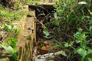 Quảng Ninh: Dự án kênh mương vô dụng, chủ đầu tư 'xúi' dân tự sửa