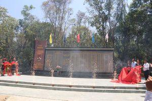 Khánh thành Bia lưu niệm Văn phòng Khu ủy Khu 5
