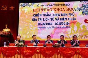 Khai mạc Hội thảo khoa học 'Chiến thắng Điện Biên Phủ - giá trị lịch sử và hiện thực'