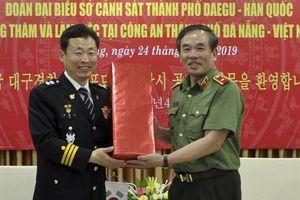 Thắt chặt hơn nữa mối quan hệ hợp tác giữa CATP Đà Nẵng và Sở Cảnh sát TP Daegu (Hàn Quốc)