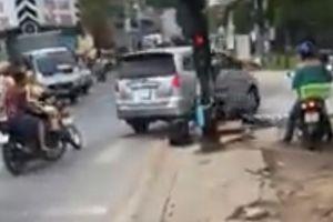 Xác minh đoạn clip ô tô 'điên cuồng' chạy trốn CSGT