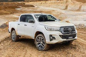 Toyota Hilux 2019 phiên bản đặc biệt chính thức trình làng