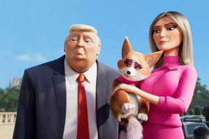 Vợ chồng Tổng thống Donald Trump xuất hiện trong phim hoạt hình