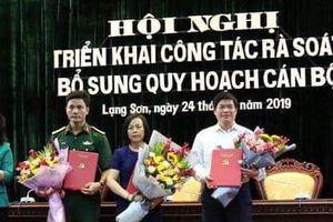 Bổ sung 3 ủy viên Thường vụ Tỉnh ủy Lạng Sơn