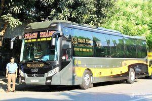 Thạch Thành đưa vào khai thác dòng xe 'khách sạn di động'