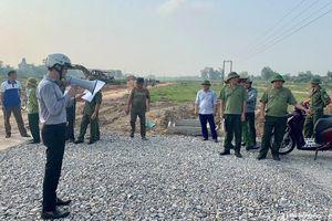 Bảo vệ thi công dự án khu tái định cư Vinh - Cửa Lò