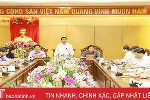 Tập trung thực hiện các nhiệm vụ theo kế hoạch phát triển kinh tế - xã hội Hà Tĩnh 6 tháng đầu năm