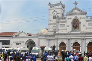 Tạm ngừng mọi hoạt động của các nhà thờ Thiên chúa giáo tại Sri Lanka