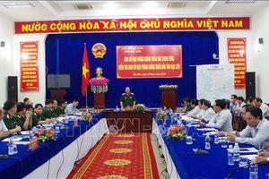 Ban chỉ đạo Phòng không nhân dân Trung ương làm việc tại tỉnh Bạc Liêu