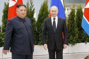 Ông Kim Jong-un gửi lời cảm ơn Tổng thống Putin vì đã đi 'hàng nghìn km' đến hội nghị