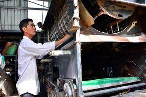 Kiên Giang: Người thích 'táy máy' giúp nông dân nhẹ cả người