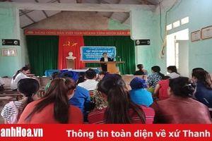 Nâng cao nhận thức pháp luật cho hội viên phụ nữ Bá Thước