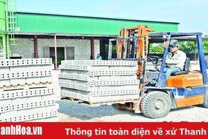 Giải pháp phát triển vật liệu xây dựng thay thế